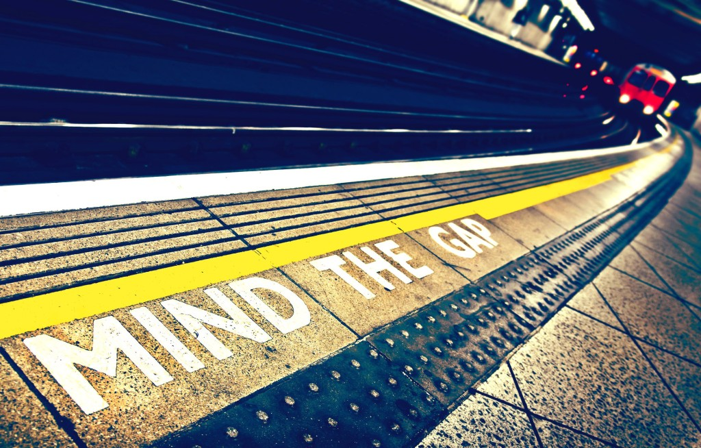 mind the gap image